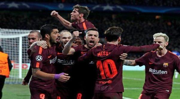 برشلونة وتشيلسي