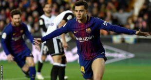 برشلونة وفالنسيا 9-2-2018