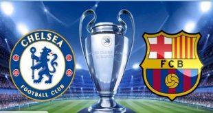 ملخص مباراة برشلونة وتشيلسى في دورى ابطال اوروبا 20-2-2018