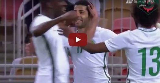 هدف السعودية الثاني في مرمى مولودوفا