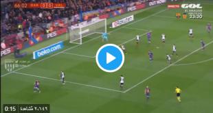 هدف برشلونة في مرمى فالنسيا 1-0 سواريز