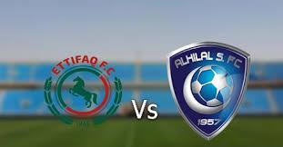 اهداف مباراة الاتفاق والهلال 2-0