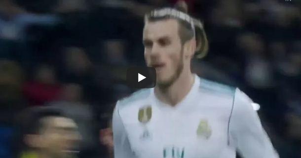اهداف مباراة ريال مدريد وخيتافى 1-0 هدف جاريث بيل - الدورى الاسبانى