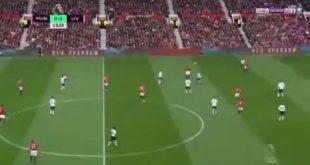 اهداف مباراة مانشستر يونايتد وليفربول 2-0 . الدورى الانجليزي