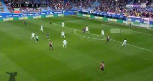 اهداف وملخص مباراة ريال مدريد وايبار