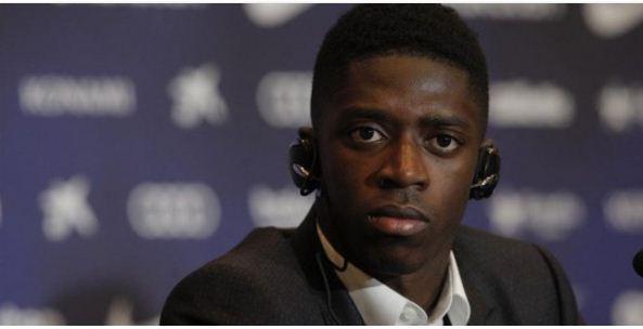 مفاجأة   برشلونة يعقد صفقة تبادلية برحيل ديمبلي للبريميرليج مقابل هذا اللاعب!