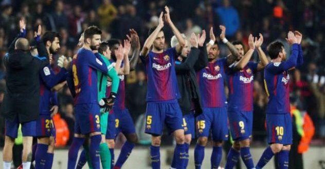 مدافع برشلونة