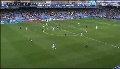 هدف ريال مدريد في مرمى ايبار 1-0 الدورى الاسبانى .. كريستيانو رونالدو
