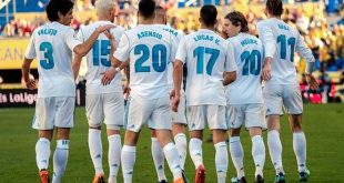 قائمة ريال مدريد 2-4-2018