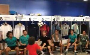 مهارة ابن مارسيلو مع لاعبي ريال مدريد