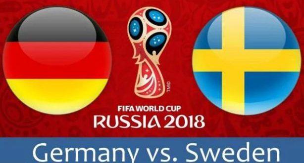 ملخص واهداف مباراة المانيا والسويد كاس العالم 2018