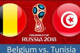ملخص واهداف مباراة بلجيكا وتونس كاس العالم 2018