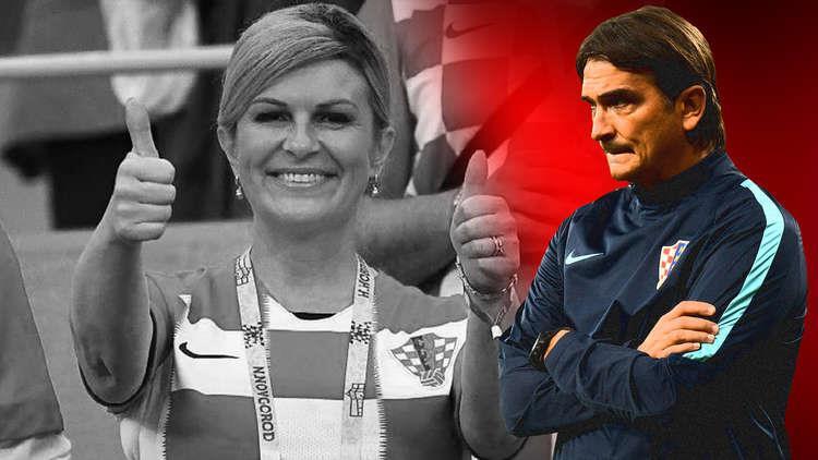 اخبار الرياضة العالمية ، حقيقة رسالة مدرب كرواتيا القاسية للرئيسة