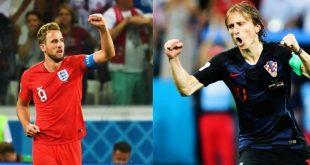 اهداف مباراة انجلترا وكرواتيا ،ملخص مباراة انجلترا وكرواتيا كاس العالم 2018
