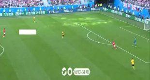 فيديوهدف بلجيكا الثاني في مرمى انجلترا 2-0 ادين هازارد