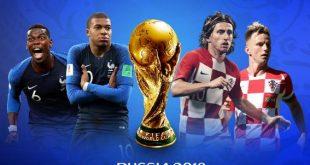 ملخص مباراة فرنسا وكرواتيا كاس العالم ، اهداف فرنسا وكرواتيا