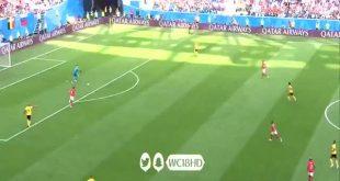 هدف بلجيكا في مرمى انجلترا 1-0 كاس العالم 2018