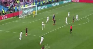 هدف كرواتيا الثاني في مرمى انجلترا 2-1 كاس العالم 2018