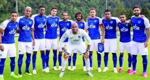 اخبار الدوري السعودي واخبار نادي الهلال الهلال يقدم مدربه ومحترفيه الأجانب على الطريقة العالمية