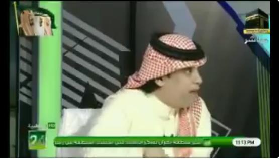 خالد الشعلان هناك إعلام بدأ يسمى اعلام عموري وبالدلائل