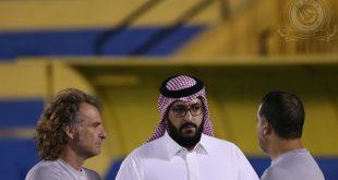 سعود آل سويلم يوجه رسالة لجماهير النصر