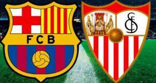 مشاهدة مباراة برشلونة واشبلية كاس ملك اسبانيا يلا شوت جوال ، ملخص مباراة برشلونة واشبلية