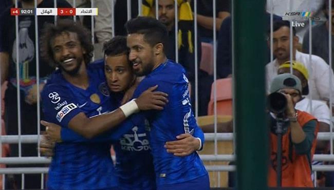 اهداف مباراة الهلال والاتحاد (2-0) الدوري السعودي