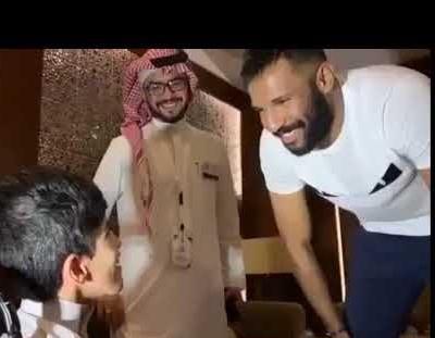بالفيديو .. سعد متحدي الإعاقة يكشف مخاوف العويس من حمدالله
