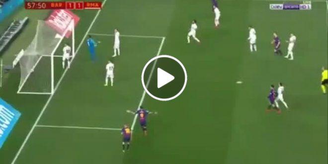 هدف-برشلونة-في-مرمى-ريال-مدريد-1-1-كاس-الملك