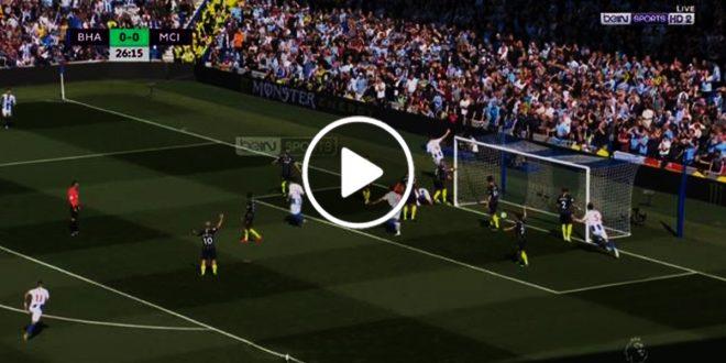 اهداف-مباراة-مانشستر-سيتي-وبرايتون