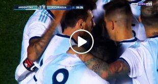 اهداف مباراة الارجنتين ونيكاراجوا 5-1