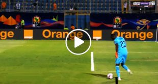 لقطة-كوميدية-من-حارس-السنغال-..-كاد-أن-يتحول-الى-اضحوكة-البطولة