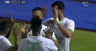 اهداف مباراة الاهلي والاتفاق الدوري السعودي 2-1