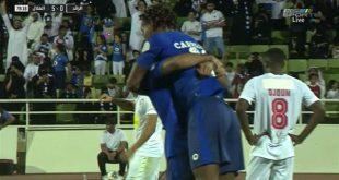 اهداف مباراة الهلال والرائد 5-0 الدوري السعودي
