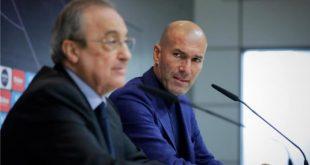 رئيس نادي ريال مدريد الإسباني