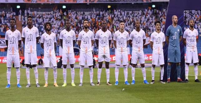لاعبو نادي الشباب السعودي