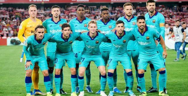 فريق برشلونة الاسباني