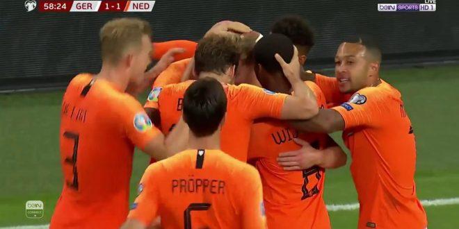 اهداف مباراة المانيا وهولندا 2-4 - سقوووط الماكينات الالمانية - تألق دي يونج