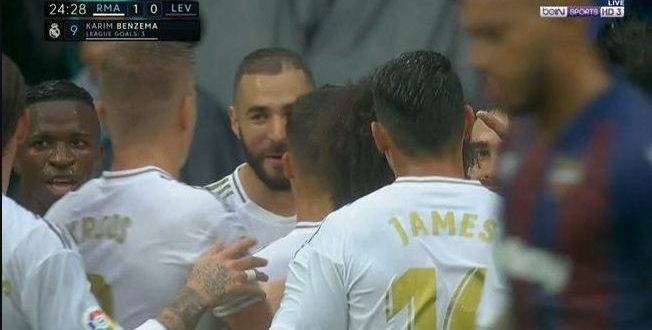 real madrid vs levante goals and highlights