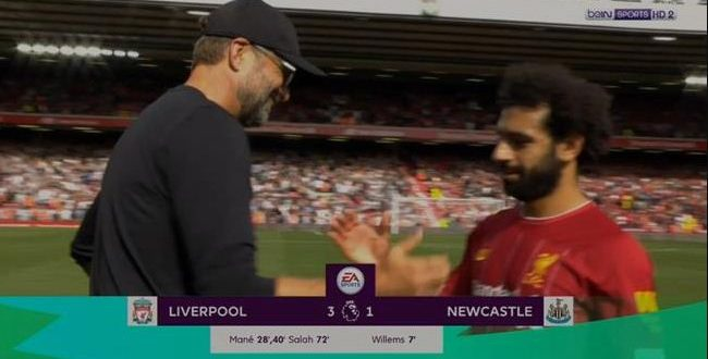 liverpool vs newcastle goals and highlights