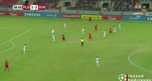 ملخص واهداف مباراة فلسطين واوزبكستان تصفيات كاس العالم الان