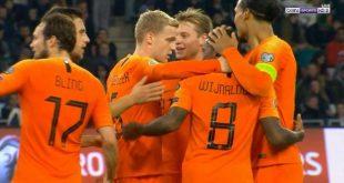 اهداف مباراة هولندا وبيلاروسيا (2-1) تصفيات امم اوروبا .. ملخص مباراة هولندا .. ملخص مباريات اليوم