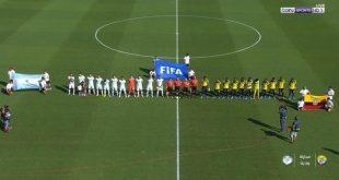 ملخص مباراة الارجنتين والاكوادور 6-1