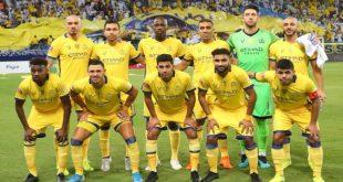 لاعبو النصر السعودي