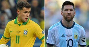 اهداف مباراة البرازيل والارجنتين الودية .. الان