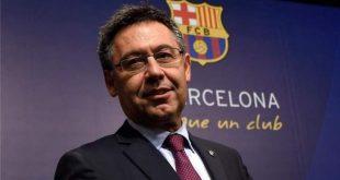 رئيس نادي برشلونة الاسباني جوسيب ماريا بارتوميو