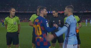ملخص مباراة برشلونة وسيلتا فيجو في الدوري الاسباني