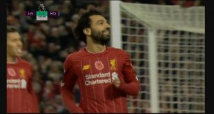 مهارة محمد صلاح الرائعة في مباراة ليفربول مانشستر سيتي