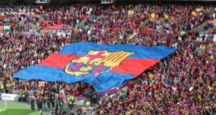 جماهير نادي برشلونة الاسباني