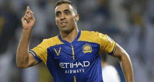 لاعب النصر السعودي عبد الرزاق حمد الله